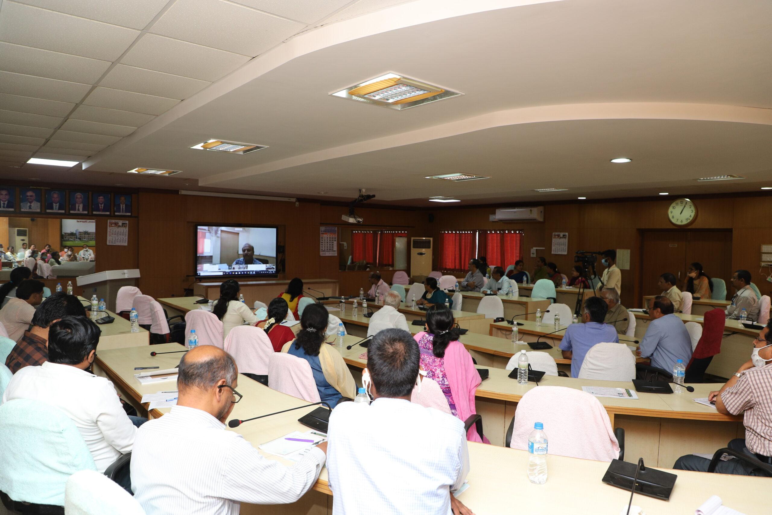 ONLINE TRAINING (Video Conferencing) PROGRAMME on  e- Governance @UASD