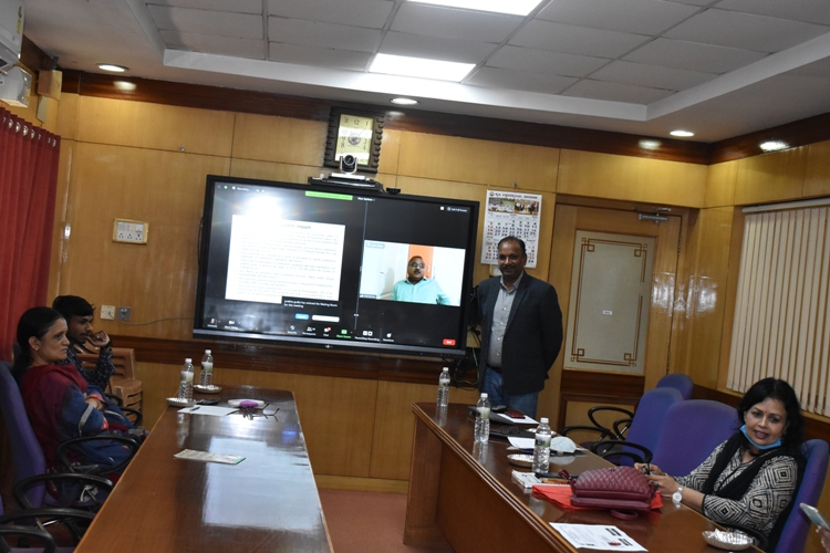 """National Webinar on """"Impact of construction and demolition waste on environment"""" @UAS, Dharwad"""