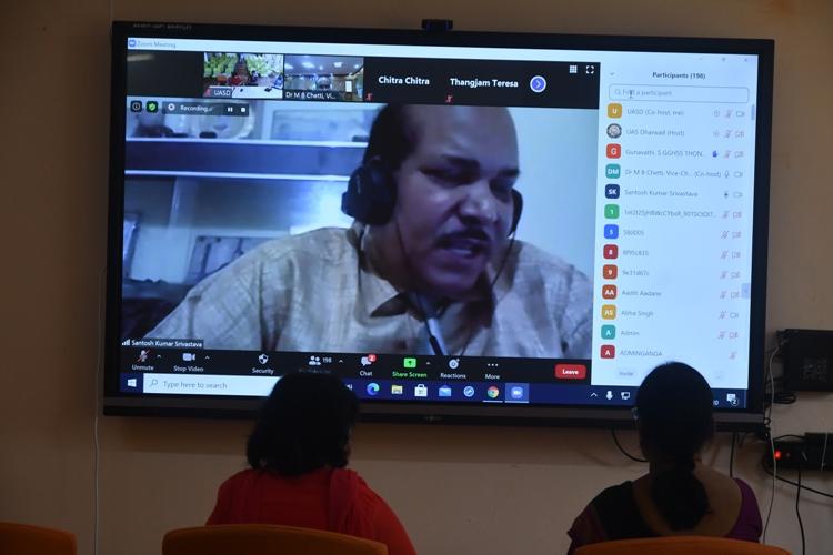 National Webinar on Entrepreneurship in ECCE @ UAS, Dharwad