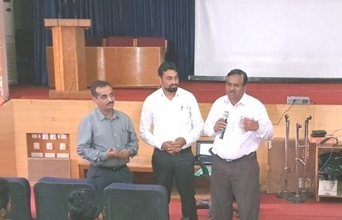 Orientation on International Training  and Expression of Interest (EOI) Workshop @ COLLEGE OF AGRICULTURE, VIJAYAPUR