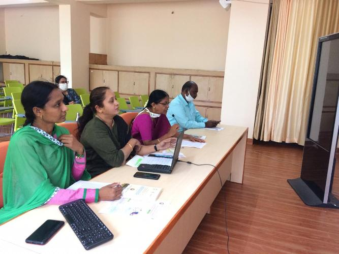 Online National workshop on Use of e-resources in Agricultural Libraries @ UASD